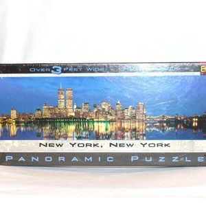 New York Panoramic Puzzle Over 3 Feet Wide 765 Pcs